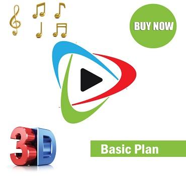 3d basic animation logo