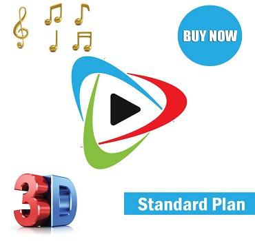 3d logo animation standard plan