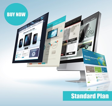 website design standard plan